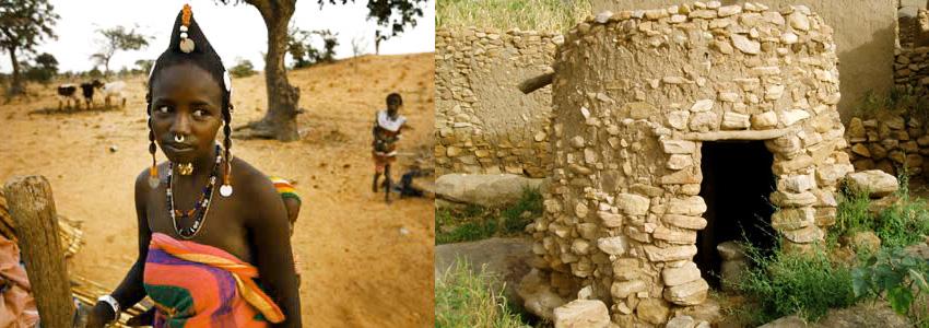 Dogon Tribe Menstruation Hut