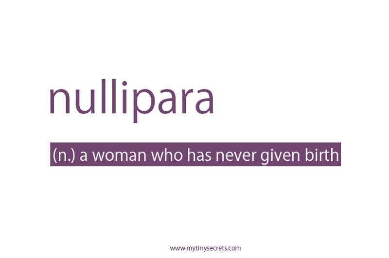 nullipara