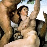 Adam Eve Michelangelo