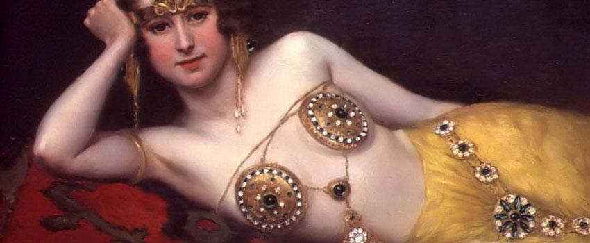period-pride-menstruation-Felix-Auguste-Clement,-An-Odalisque